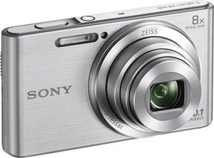Sony Cyber-Shot DSC-W830, strieborný