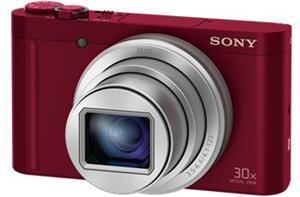 Sony DSC-WX500, červený