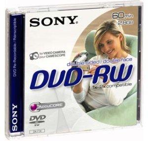 SONY DVD-RW pro DVD kamery, 8cm