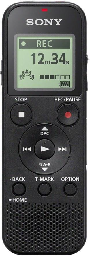Sony ICD-PX370, diktafón, čierny