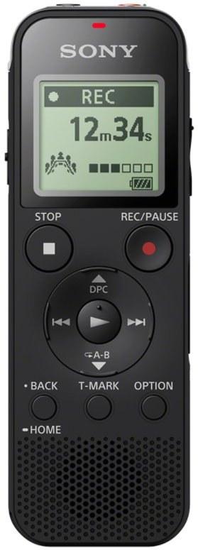 Sony ICD-PX470, diktafón, čierny