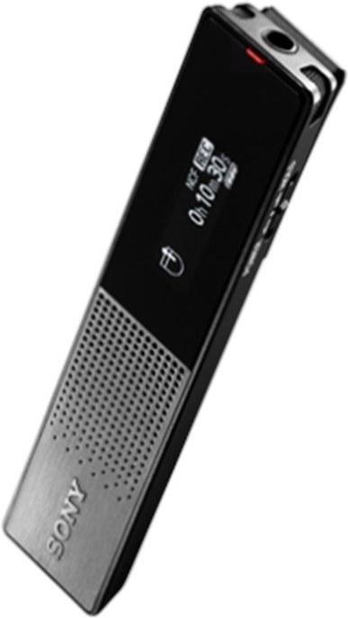 Sony ICD-TX650, diktafón, čierny