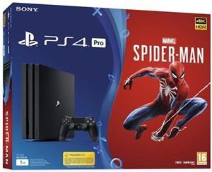 SONY PlayStation 4 PRO + SPIDERMAN