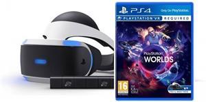 Sony PlayStation VR + PS4 Eye Camera V2 + VR Worlds