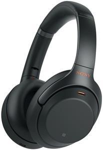 Sony WH-1000XM3, bezdrôtové slúchadlá, čierne