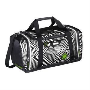 Športová taška SporterPorter, Black Track reflexní