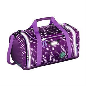 Športová taška SporterPorter, Purple Galaxy reflexní