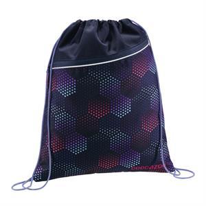 Športový vak na chrbát CoocaZoo, Purple Illusion