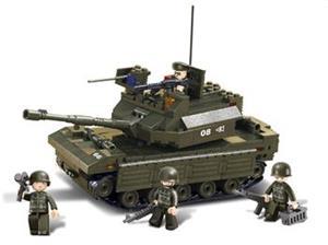 Stavebnica Sluban Tank, 312 dielov (M38-B6500)