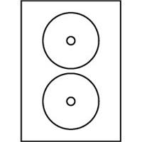 Štítky CD07 118/18 univerzálne biele, 1 kus