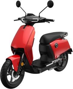Super SOCO CUX, elektromotocykel, červený