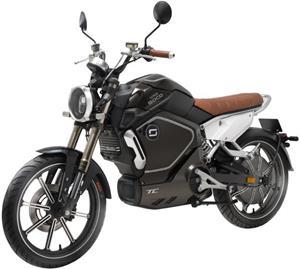 Super SOCO TC, elektromotocykel, čierny