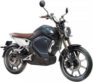 Super SOCO TC, elektromotocykel, modrý