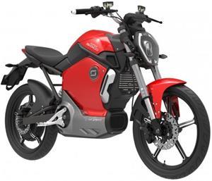 Super SOCO TS, elektromotocykel, červený