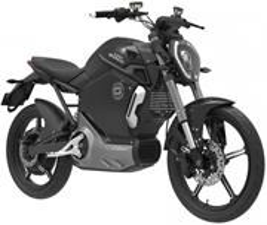 Super SOCO TS, elektromotocykel, čierny