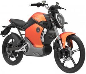 Super SOCO TS, elektromotocykel, oranžový
