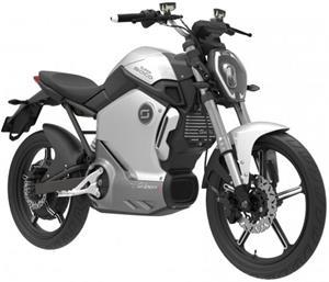 Super SOCO TS, elektromotocykel, sivý