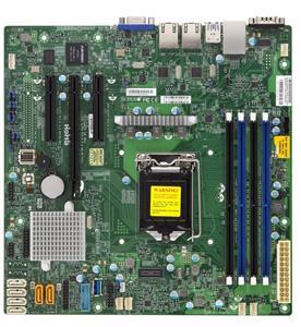 Supermicro MBDX11SSLFB, 1xLGA1151, MATX, DDR4
