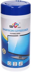 TB Clean, čistiace obrúsky v tube (100 ks)
