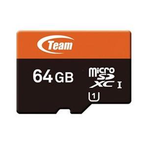Team microSDXC 64GB Xtreem UHS-1 + adaptér