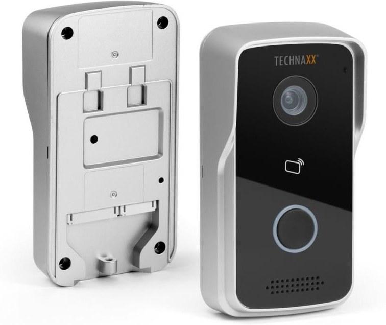 Technaxx bezdrôtový WiFi video zvonček TX-82, čierno strieborný