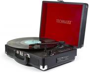 Technaxx Bluetooth gramofón konvertor, čierny