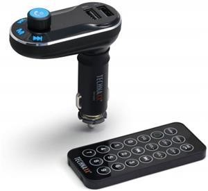 Technaxx FM transmitter FMT600BT+ MP3 prehrávač + Bluetooth, LCD display