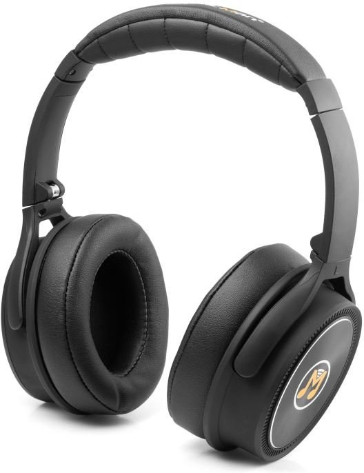 Technaxx MusicMan BT-X43, bezdrôtové slúchadlá, čierne
