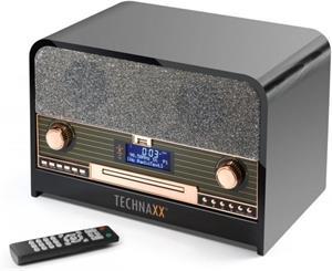 Technaxx Retro CD prehrávač, čierny