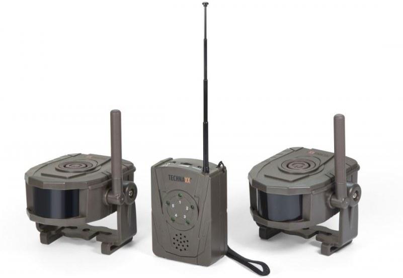 Technaxx TX-104, bezdrôtový bezpečnostní Alarm set, prijímač a 2x pohybový senzor