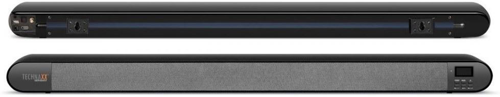 Technaxx TX-139 DAB+, soundbar, čierny