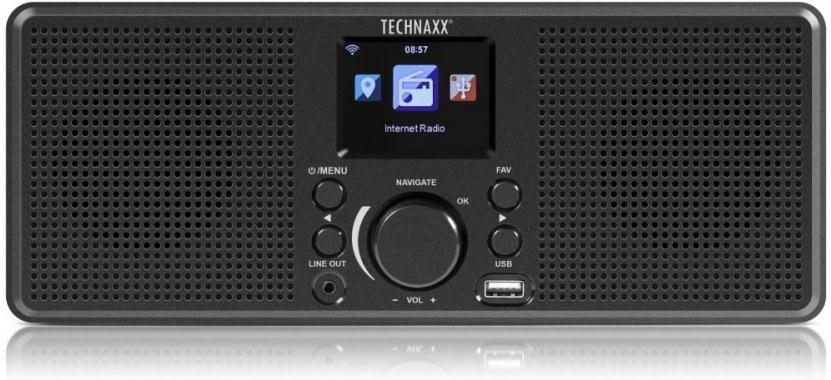 Technaxx TX-153, Internetové stereo rádio, čierne