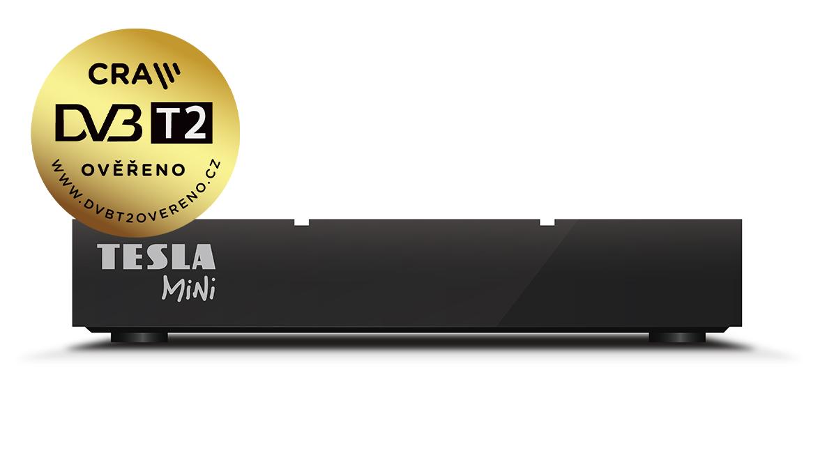 TESLA TE-380 mini, DVB-T2 prijímač, H.265 (HEVC)