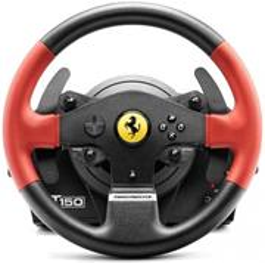 Thrustmaster T150 Ferrari set volant a pedále, pre PS4, PS3 a PC