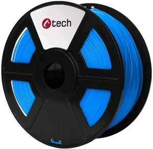 Tisková struna (filament) C-TECH, PETG, 1,75mm, 1kg, modrá