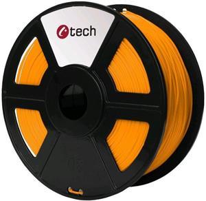 Tisková struna (filament) C-TECH, PETG, 1,75mm, 1kg, oranžová