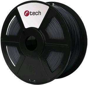 Tisková struna (filament) C-TECH, PETG, 1,75mm, 1kg, šedá