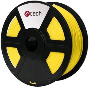 Tisková struna (filament) C-TECH, PETG, 1,75mm, 1kg, žlutá