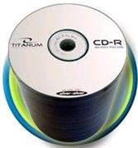 Titanum CD-R 100 pack 52x/700MB/
