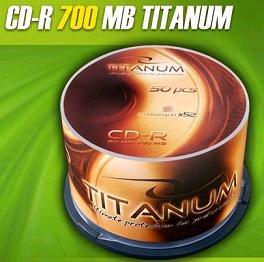 Titanum CD-R 50 pack 52x/700MB/
