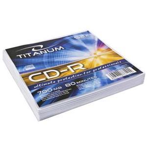 Titanum CD-R obálka 700MB 52x cena za 1ks