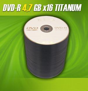 Titanum DVD-R 100 pack 16x/4.7GB