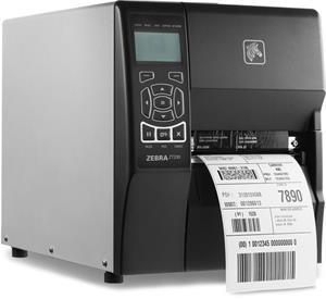 Tlačiareň Zebra ZT230, 203dpi, RS232, USB, LAN, ZPL, odlepovač, TT