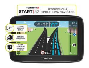 TomTom START 52 Europe, LIFETIME