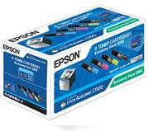 Toner EPSON AcuLaser C1100/N, CX11N/NF/NFC CMYK Multipack - S050268