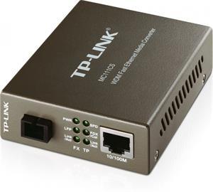 TP-LINK MC111CS, WDM konvertor, 1x10/100M RJ45/1 x