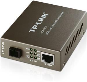 TP-LINK MC112CS, WDM konvertor, 1x10/100M RJ45 / 1 x single-mode SC