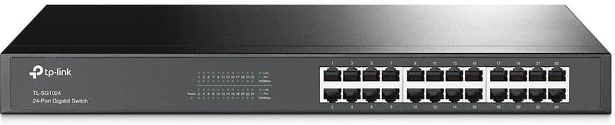 "TP-LINK switch TL-SG1024 24xTP 10/100/1000Mbps 19""rackmo"