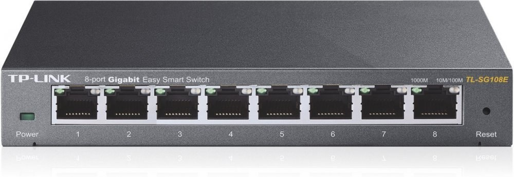 TP-Link TL-SG108E, 8xGE