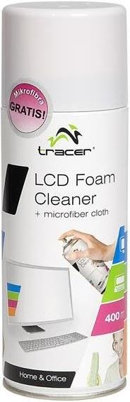 Tracer Foam Cleaner, čistiaca pena na plasty, 400 ml + Microfiber